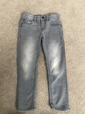 Boys Skinny Grey Jeans Age 5 yrs BNWOT Adjustable Waist