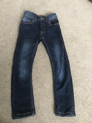 Boys Next Navy Skinny Jeans Age 4 Years