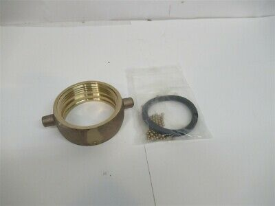 "Dixon PSNP2503.18x7, 2-1/2"" Pin Lug Brass Swivel Nut w/ 3.19 x 7 TPI Thread"