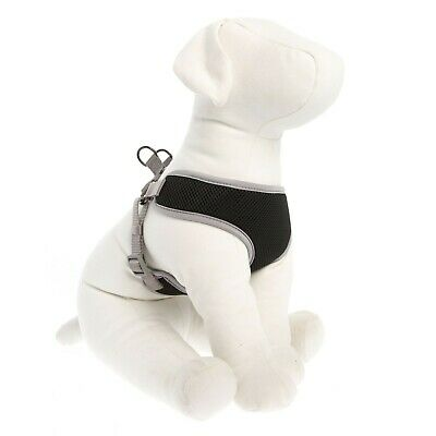 Top Paw Mesh Dog Harness Black Small EXCELLENT