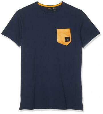 O'NEILL LM Shape Pocket T-SHIRT-5056 Ink Blue-S, Magliette Uomo, S S, blue