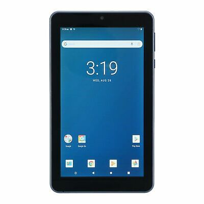 "ONN. Surf 7"" Android Tablet 9.0 Pie 16GB 1.3GHz Quad-Core 2 Camera Bluetooth"