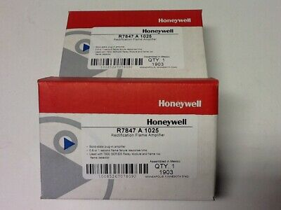 Honeywell R7847A1025 Rectification Flame Amplifier (Brand New)