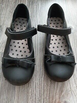 Marks And Spencers Leather Girls School Shoes Size 10