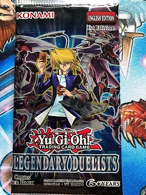 Yu-Gi-Oh! Legendary Duelists Booster Pack 1st Edition Sealed