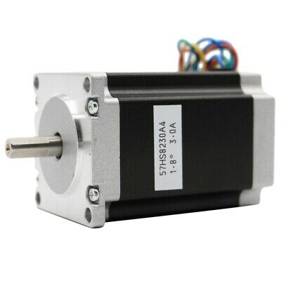 1X(Nema 23 Cnc Stepper Motor 57x82Mm 3A 2.2N.315Oz-In Nema23 Cnc Router EngG6S9)
