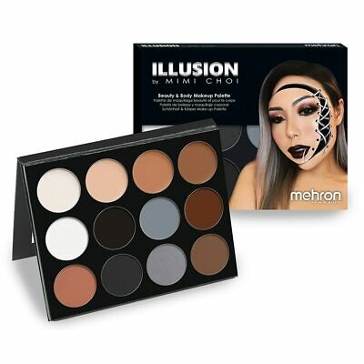 Mehron Illusion By Mimi Choi Beauty and Body Palette