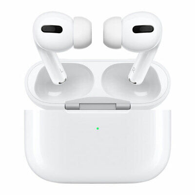 Apple AirPods Pro Earphones, Wireless/Bluetooth, Quick Charge Case, Auto On & Co