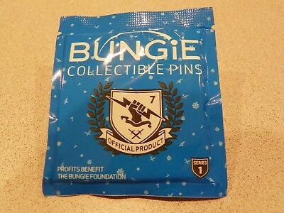 Destiny 2 Planet of Peace Emblem & Pin, brand new sealed in package - with code