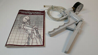 MityVac Automotive Vacuum Pump w/ Manual Vintage