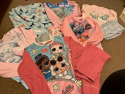 Girls Pyjama Bundle - Age 7-8 Years