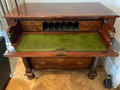 High Quality Mahogany Secretaire Chest of Drawers- Early 19th Century