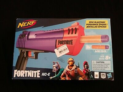 BRAND NEW - NERF Fortnite HC-E Mega Dart Blaster -- open box NO AMMO