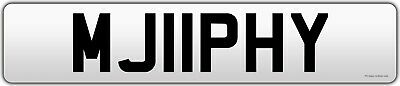 MURPHY cherished private registration plate MJ11PHY