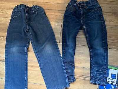 Boys Clothes Bundle 2 Pairs Of Jeans Size 6-7 Years