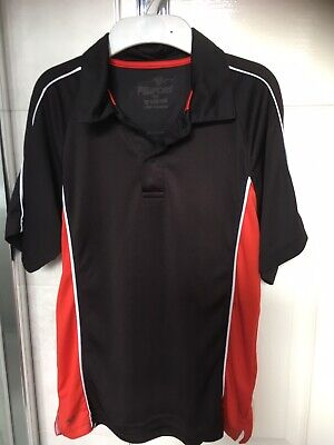 Unisex, Boys Or Girls Black And Red Sports Top Size XS By PB Sports