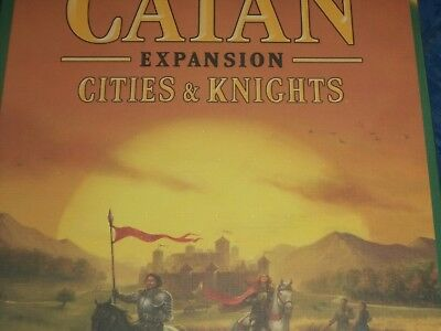 Catan Cities and Knights Expansion - Board Game New! Settlers of Catan &