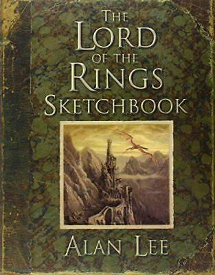 The Lord of the Rings Sketchbook: Portfolio by Alan Lee, NEW Book, FREE & FAST D