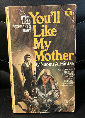 """You""""ll Like My Mother Paperback Book Vintage Horror Hintze"""