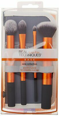 4pc Real Techniques CORE Collection - Base *Up to 60% off RRP*