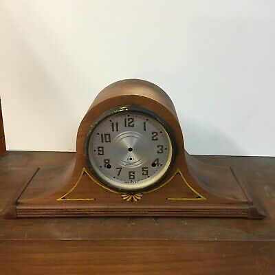 Up For Auction Is Three Beautiful Mantel Clock Cases , One With Out Works