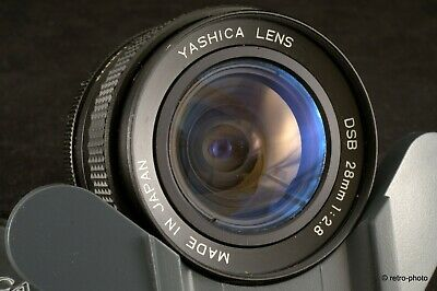 Yashica DSB 28mm f/2.8, Contax/Yashica C/Y mount, TESTED, impeccable