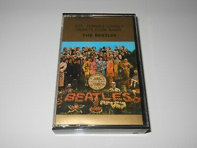 The Beatles - Sgt. Pepper's Lonely Hearts Club Band - Cassette Tape