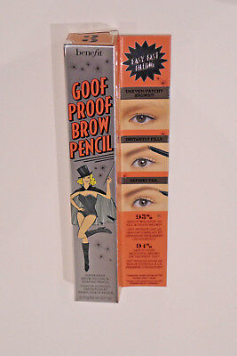 BENEFIT GOOF PROOF BROW PENCIL  0.34 g tono 3 medium LAPIZ DE CEJAS