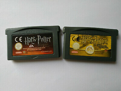 Harry Potter And The Chamber Of Secrets Goblet Of Fire Gameboy Advance Nintendo
