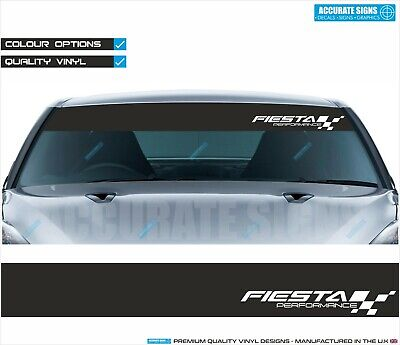 WINDSCREEN BANNER SUNSTRIP FOR ASTRA CORSA SRI STICKER DECAL ALL COLOURS