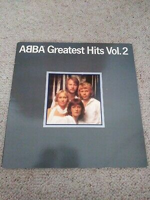 ABBA Greatest Hits Vol. 2 1979 UK Vinyl LP + INNER EXCELLENT CONDITION volume
