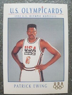 US Olymp Cards Patrick Ewing OS 1992 Nr. 10 Trading Card
