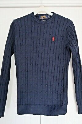 Mens Polo Ralph Lauren slim fit Jumper Small