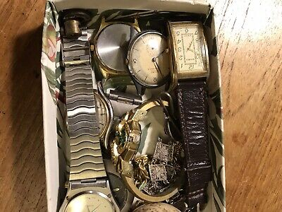Job lot - Collectables,Curios,Vintage & Antique Jewellery Watches