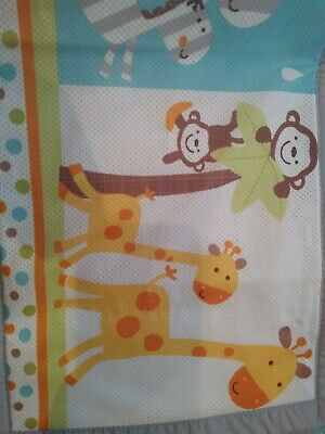 Breathable Animal Mesh Cot Liners/Bumpers