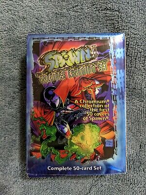 Spawn The Toy Files Exclusive Figure Chase Card E1