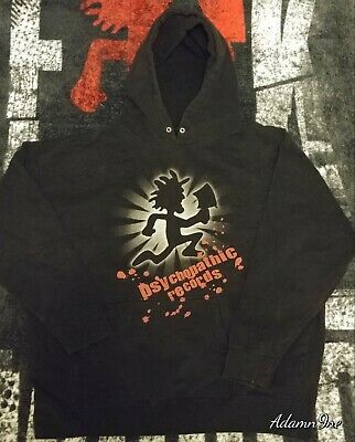 Insane Clown Posse Icp Psychopathic Records Hatchetman Hoodie Xl Juggalo