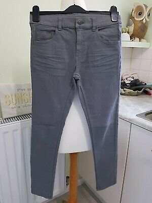 Blue Zoo Super Skinny Grey Jeans Age 11