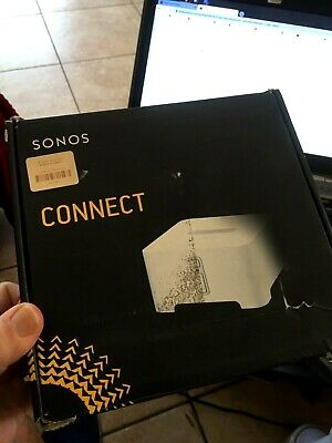 Very Nice Used Sonos Connect CTNZPUS1 Wireless Connect Music Player White