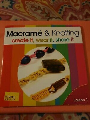 Macrame And Knotting Edition 1 Jewellerymaker DVD