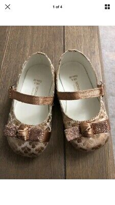 MONSOON Beautiful Baby Girl Shoes Infant Size 4 RRP £24