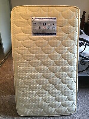 Babyhood Orthopaedic Breathe Eze Innerspring Cot Mattress 1300x750x100