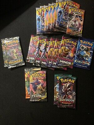 22 Damaged Pokemon Team Up Unified Minds Lost Thunder Cosmic Eclipse Boosters