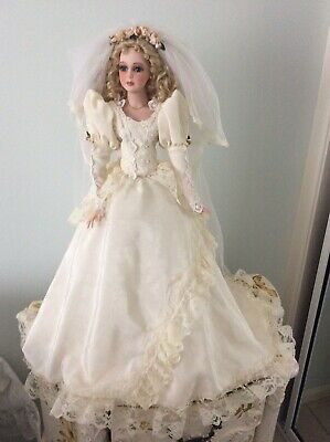 Hillview Lane Bride Doll Exc Cond.