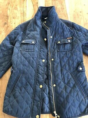 Zara Girls Navy Quilted Jacket Age 11-12 Years
