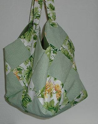 Clearance  Honiton Pillow Bag/ Craft Bag.   Patchwork. Quality Materials
