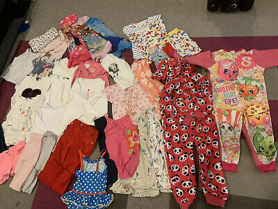 Girls 4-5 Years Clothes Bundle Next  Pyjamas Clothes Outfits