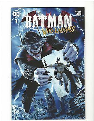 The Batman Who Laughs 1 Variant Mayhew Trade Dress Ltd 1500 *Feb 2019 UK Seller*