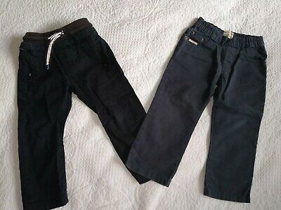 Boys Trousers (2 Pairs) - age 2-3 years (Timberland / Next)