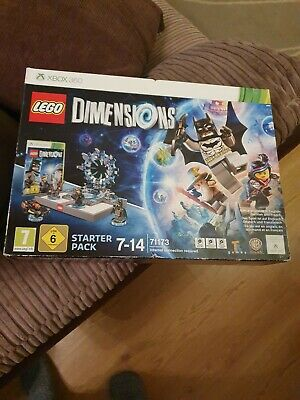 Lego Dimensions Game Xbox 360 Starter Pack Complete.
